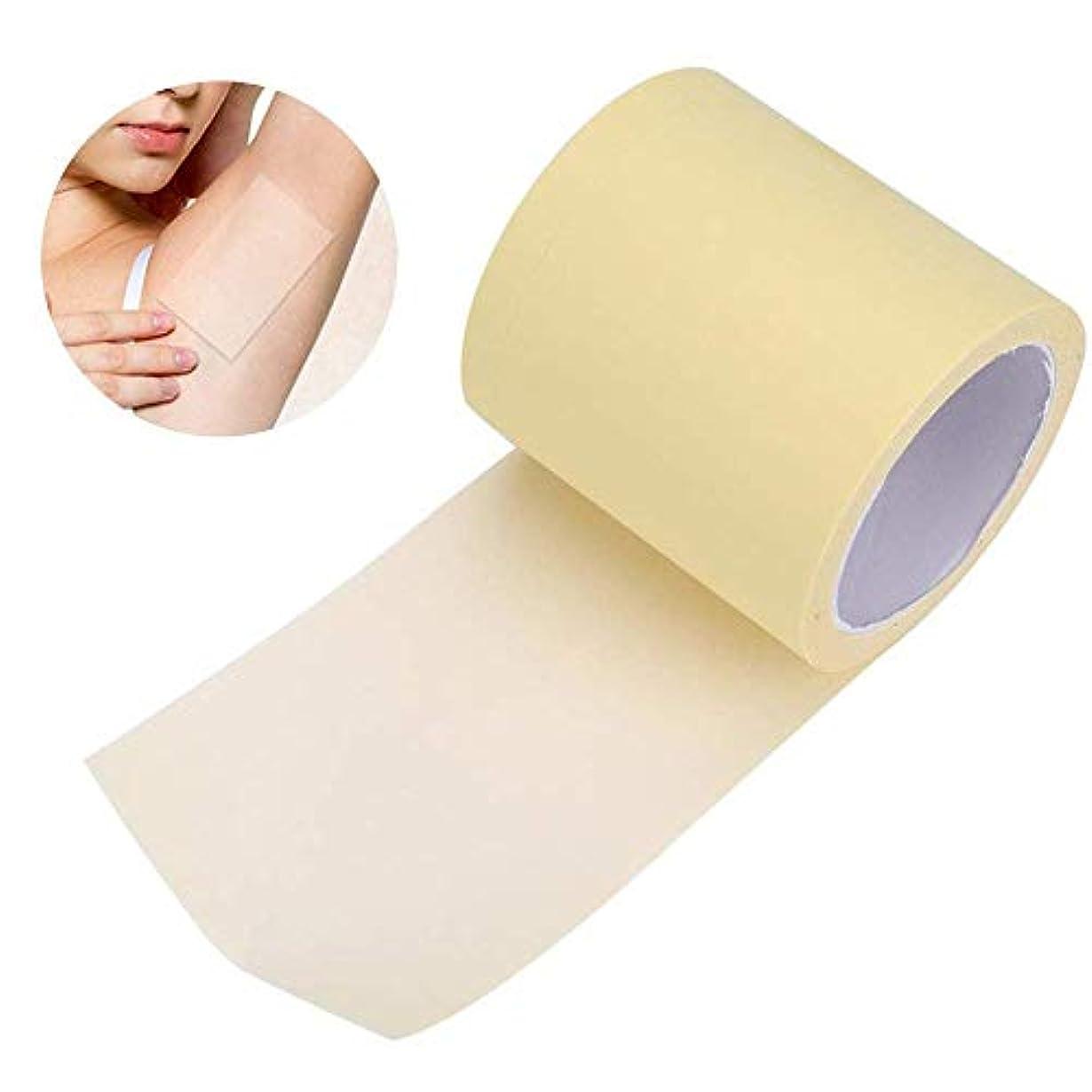 生き残り著者スパイAomgsd 汗止めパッド 脇の下汗パッド 皮膚に優しい 脇の汗染み防止 抗菌加工 超薄型 透明 男性/女性対応 (タイプ1)