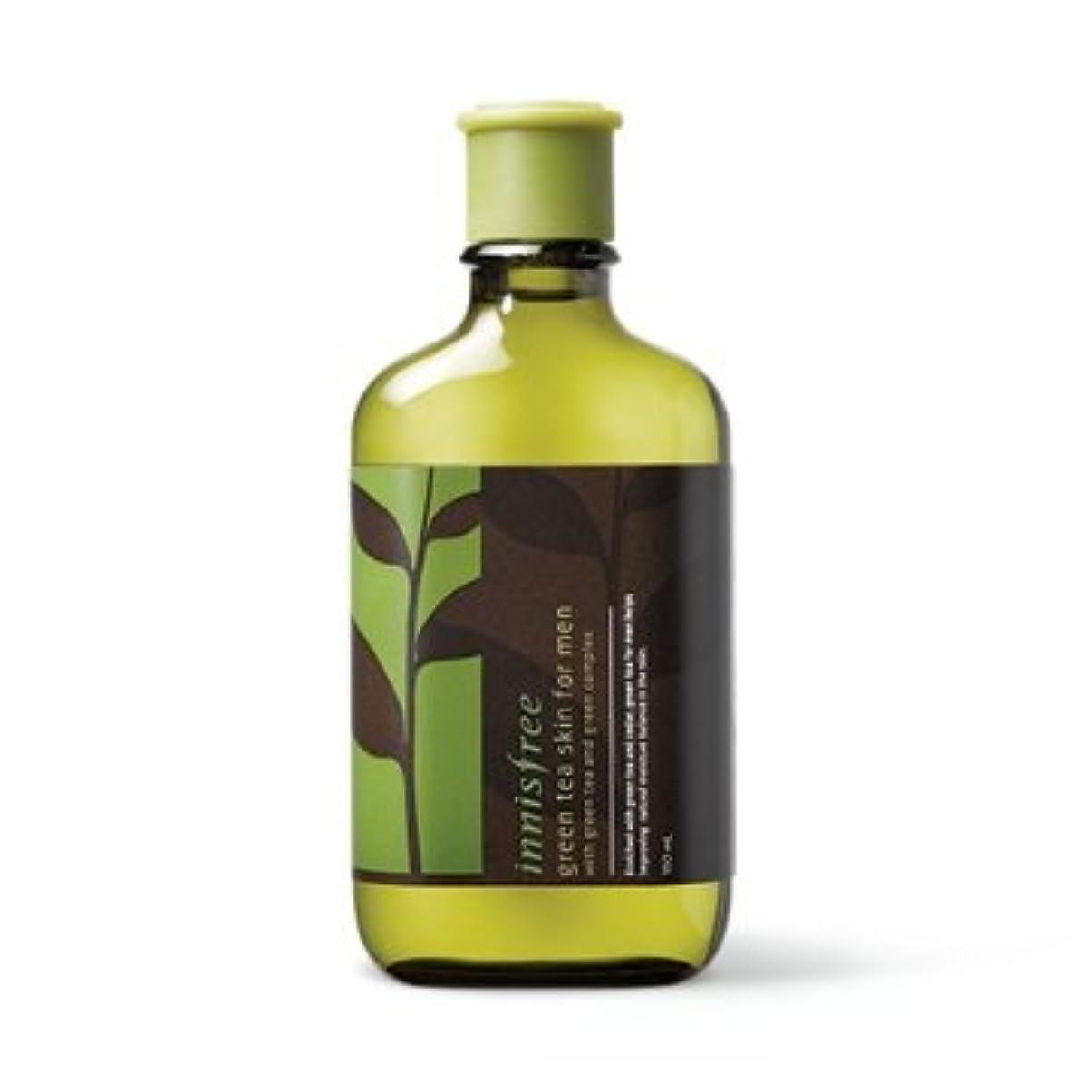 囲まれた箱花弁【イニスフリー】Innisfree green tea skin for men - 150ml (韓国直送品) (SHOPPINGINSTAGRAM)