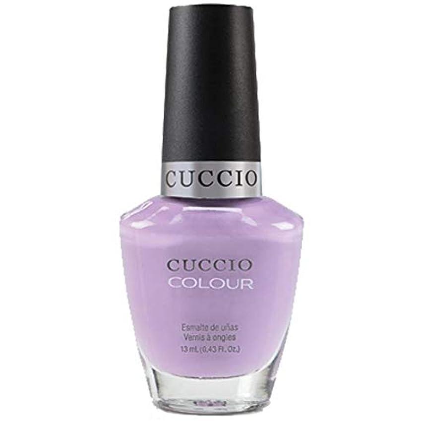 ペニー報告書脱臼するCuccio Colour Gloss Lacquer - Peace, Love & Purple - 0.43oz / 13ml