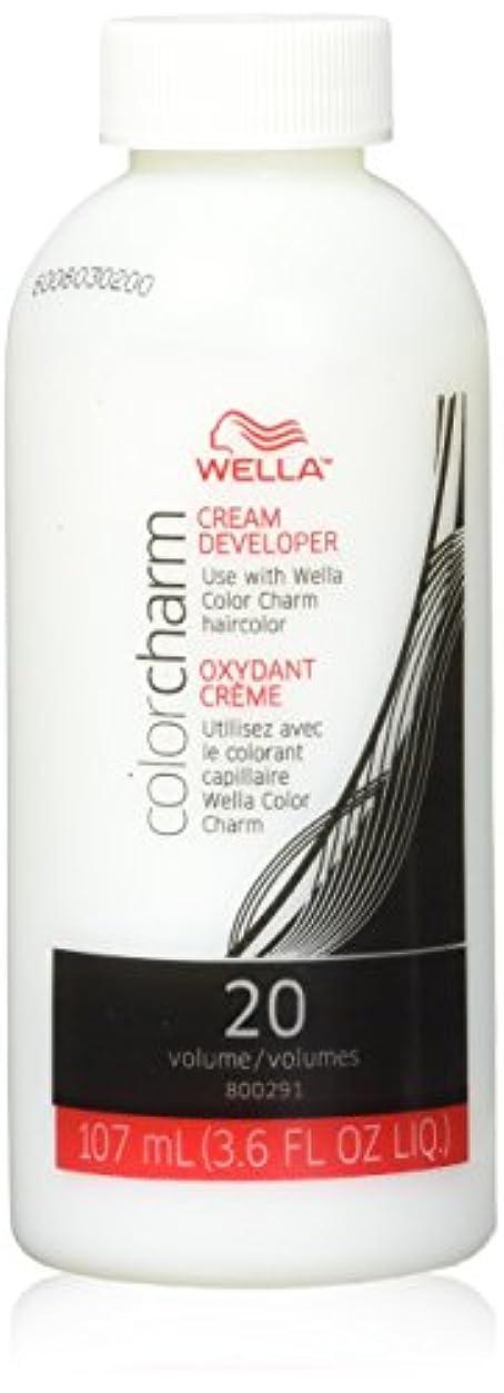 どんなときも原始的な帳面Wella カラーチャームクリーム20巻デベロッパー3.6oz(2パック)