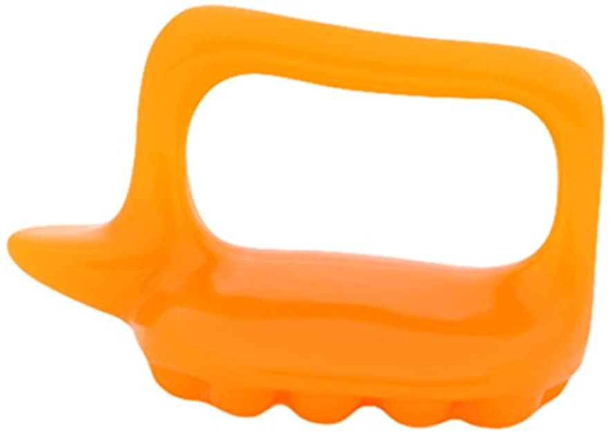 食べるレンズ意見かっさ 亀型 かっさプレート 長さ11×W6.5×H7.5cm マッサージ用