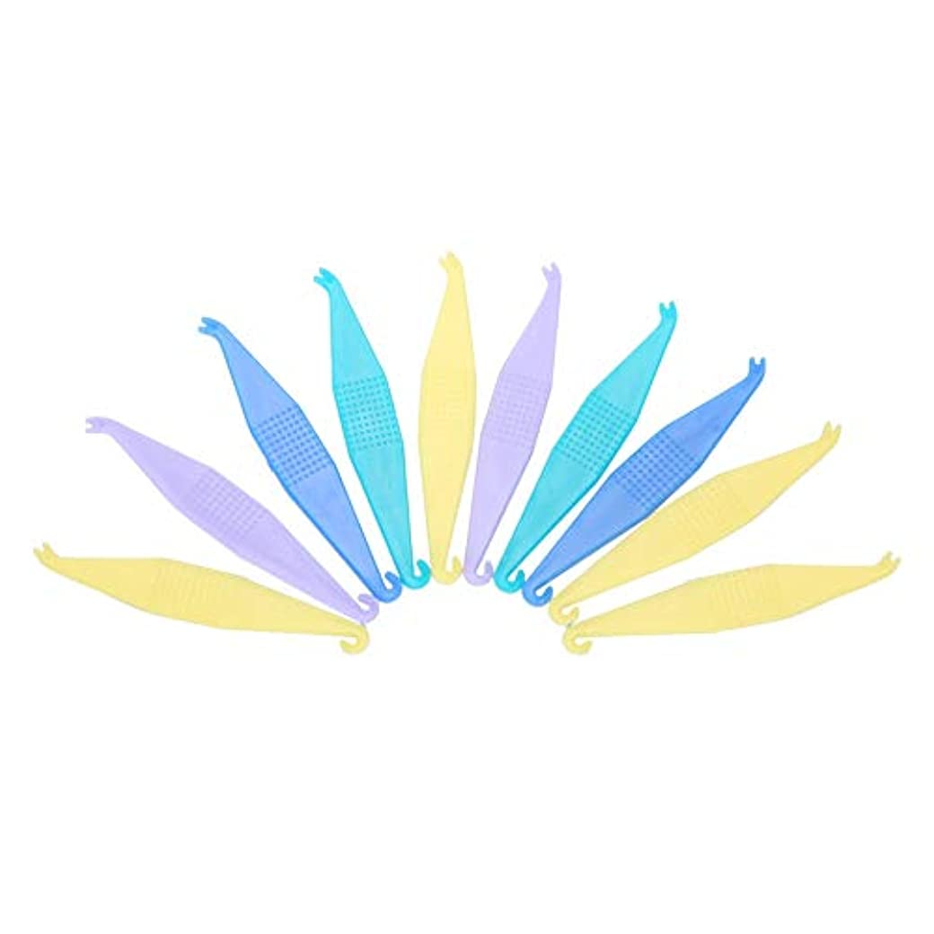高揚したサバントマティスTOPINCN 【10個セット】使い捨て矯正用弾性プラスサーズ 歯科用 使い捨て プラスチック製 歯列矯正歯科用プラスター 安全 衛生