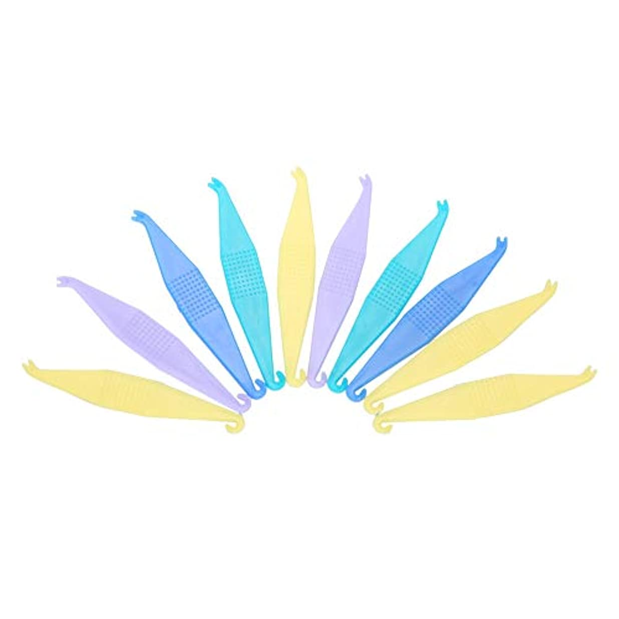 国勢調査ばかお別れTOPINCN 【10個セット】使い捨て矯正用弾性プラスサーズ 歯科用 使い捨て プラスチック製 歯列矯正歯科用プラスター 安全 衛生