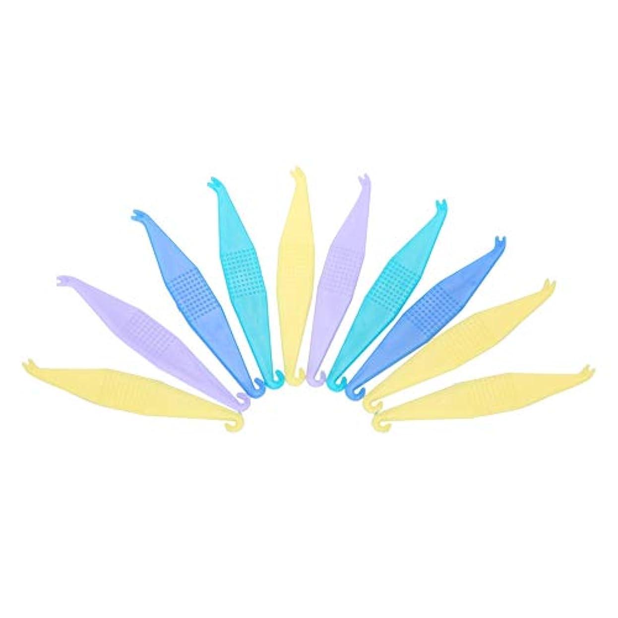 スラム街家庭教師どっちTOPINCN 【10個セット】使い捨て矯正用弾性プラスサーズ 歯科用 使い捨て プラスチック製 歯列矯正歯科用プラスター 安全 衛生