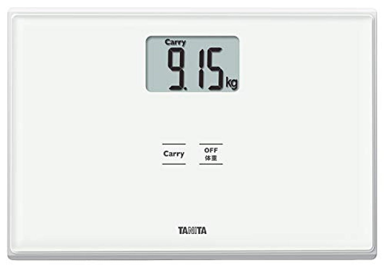 危険を冒します傾向があります取り出すタニタ 体重計 ホワイト HD-665 WH 持ったモノの重さがはかれる