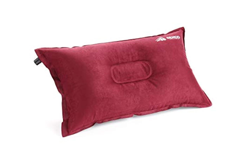 硬化する汚物科学SEMOO キャンプ用枕/自動で膨らむエア枕 キャンプ、旅行、バックパッキング用に圧縮可能