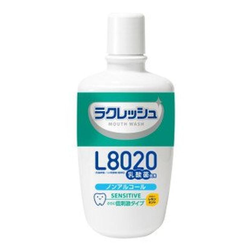 スライムエキス血色の良いジェクス ラクレッシュ L8020乳酸菌 マウスウォッシュ 洗口液センシティブタイプ 300ml×10個セット