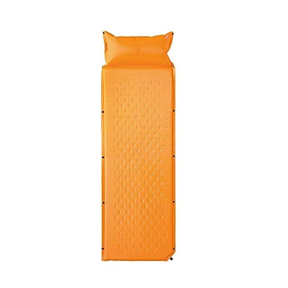 知覚する例外太陽自動インフレータブルクッション屋外テントスリーピングパッド防湿シートはステッチダブルランチパッドポータブル肥厚することができる (Color : A)