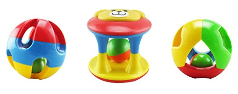 GAMT子供の楽しいボールパズル子供のHand Graspingボールベビークロールボールローリングボール3つ – Piece