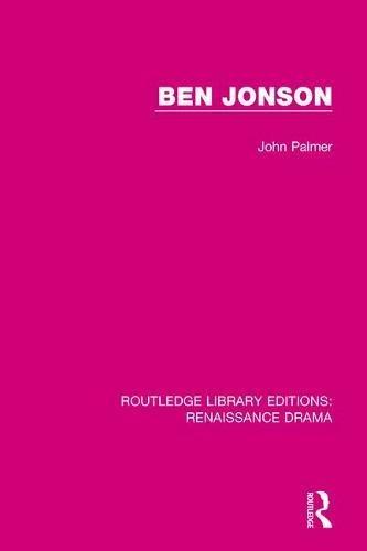 Ben Jonson (Routledge Library ...