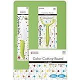 京セラ キッチン3点セット(セラミックナイフFKR-140・ピーラーCP-99・まな板PCC-99) GF-302-PCZ (グリーン)