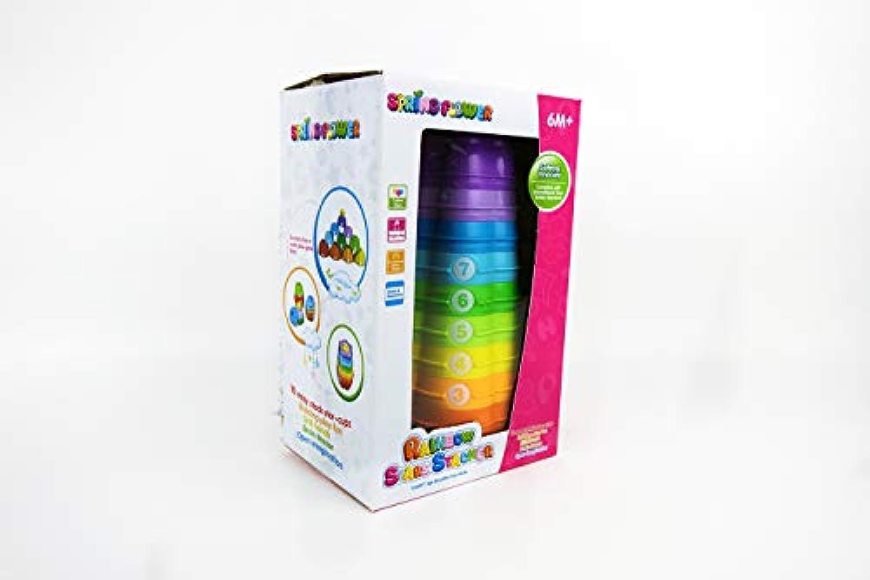 NBD Rainbow Starsスタッカブルカップ早期教育など、alaphbets、数字、&明るい色。