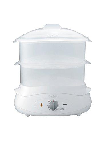 ツインバード 蒸し器 フードスチーマー ホワイト SP-4138W