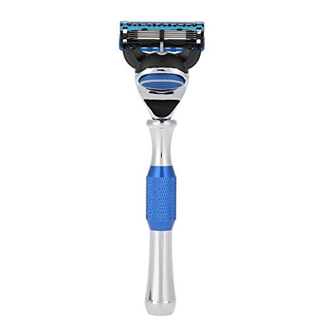 カヌーマーク水素シェービングカミソリ 高品質 手動剃毛かみそり 安全かみそり 男性用かみそり かみそり 滑り止め シェーバー シェービング 毛処理