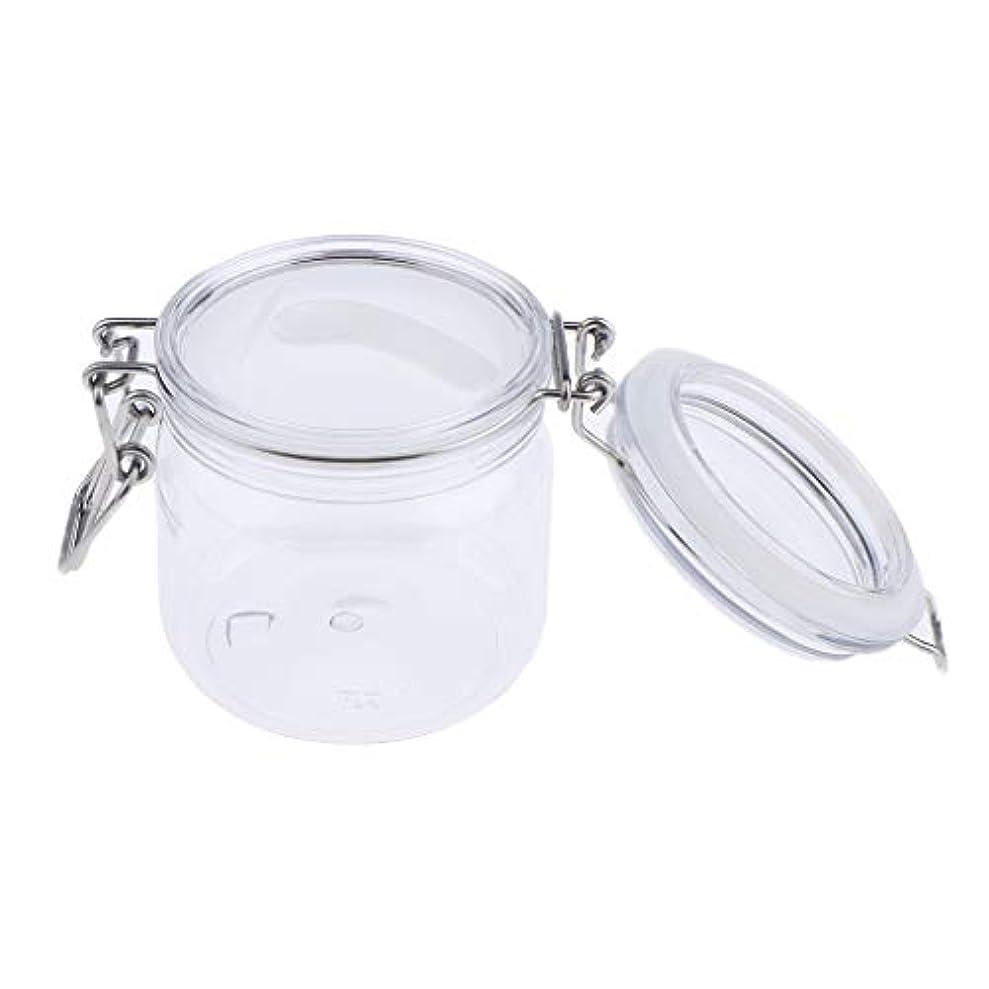 転用炭素傘SM SunniMix 化粧品容器 瓶 クリーム ジャー コスメ 詰め替え容器 スプーン付き 3サイズ選べ - 500g
