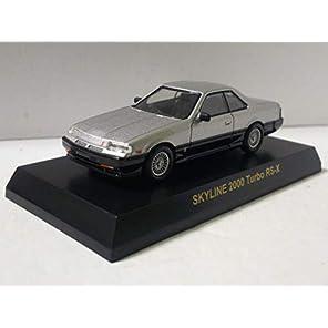京商 1/64 日産 スカイライン 2000ターボ RS-X シルバー サークルKサンクス Skyline 2000 Turbo RS-X R30 Silver 鉄火面