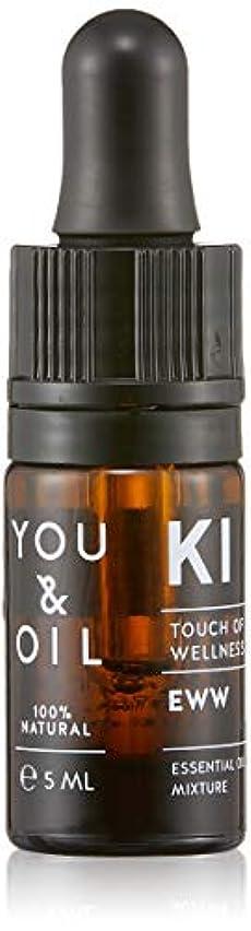 ほこり本体咽頭YOU&OIL(ユーアンドオイル) ボディ用 エッセンシャルオイル EWW 5ml