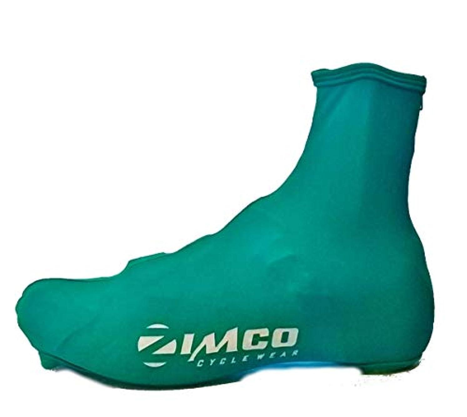 人生を作る検出する市民Zimco ライクラ サイクリング 自転車 靴カバー ブーティー 後部ジッパー付き