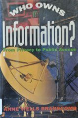 Download Who Owns Information?: From Privacy To Public Access 046509175X
