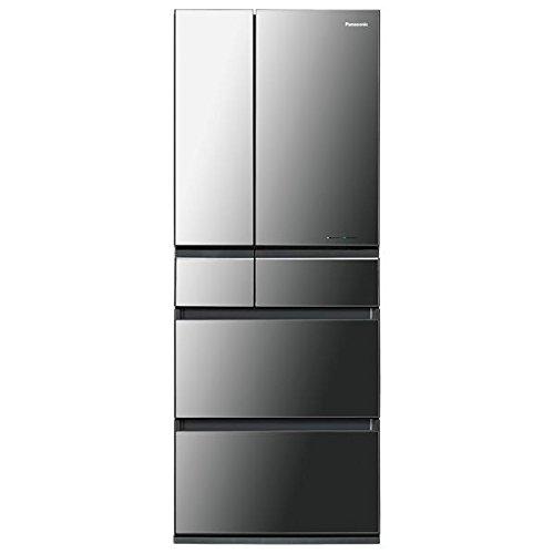 パナソニック 450L 6ドア冷蔵庫(オ二キスミラー)Pana...