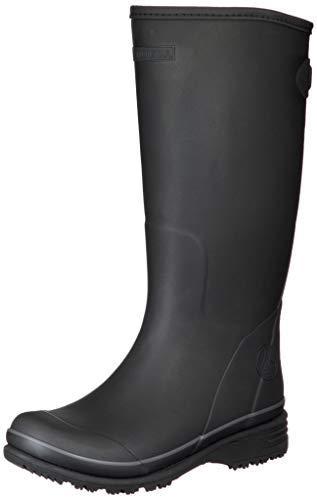 [ムーンスター] ラバーブーツ 軽作業履き 防寒 防滑 レインブーツ MFL34R メンズ ブラック