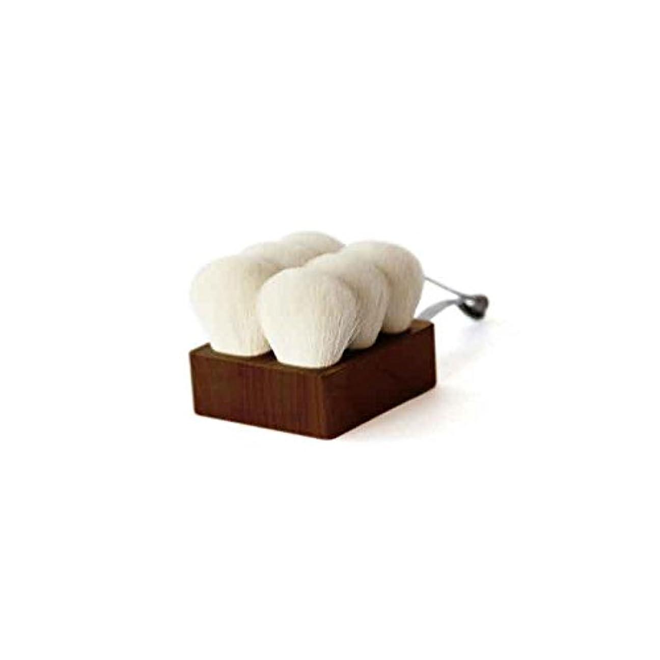 発見眠りコジオスコ熊野筆 「SUVÉ」 ボディブラシ ショート