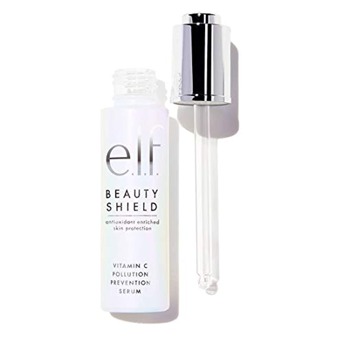雄大なドループお願いします(6 Pack) e.l.f. Beauty Shield Vitamin C Pollution Prevention Serum (並行輸入品)