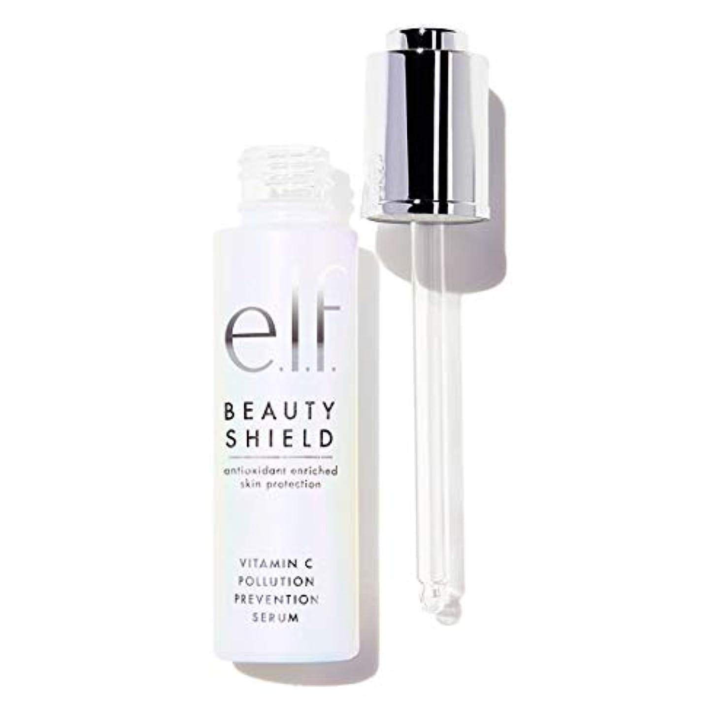 ブロック反毒墓(6 Pack) e.l.f. Beauty Shield Vitamin C Pollution Prevention Serum (並行輸入品)