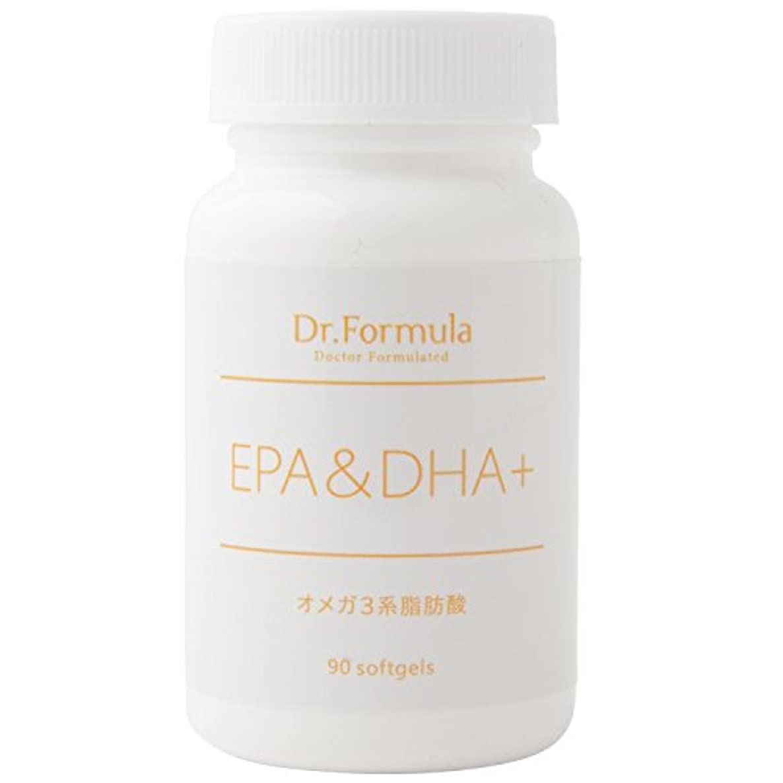 Dr.Formula EPA&DHA+(オメガ 3系脂肪酸) 30日分 90粒 日本製 OMEGA3
