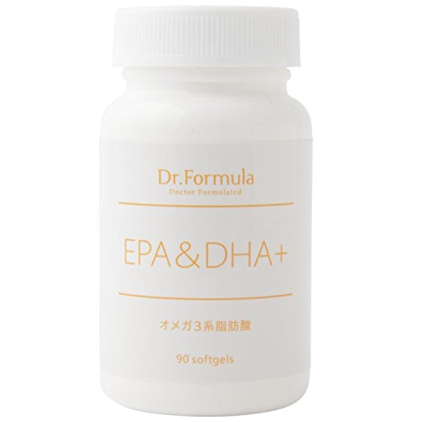 リズムリズムDr.Formula EPA&DHA+(オメガ 3系脂肪酸) 30日分 90粒 日本製 OMEGA3