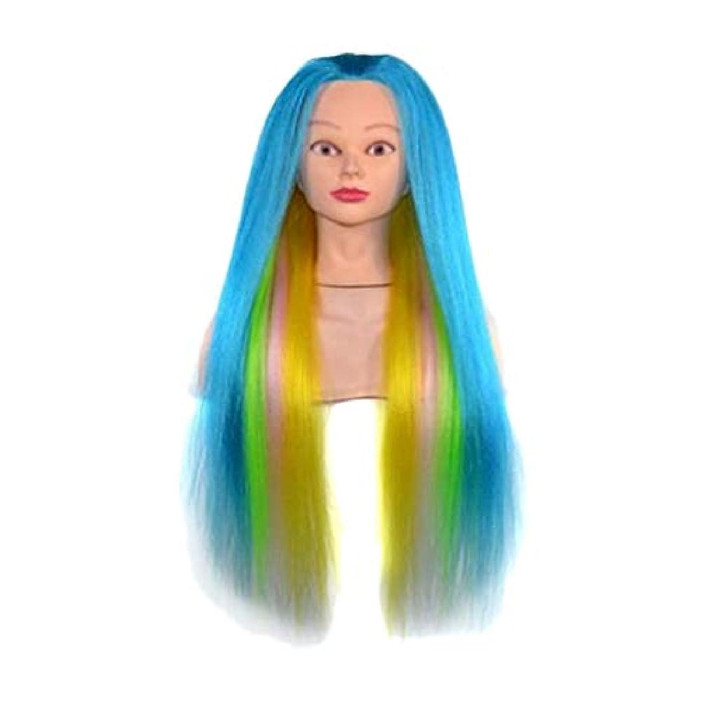 描写ランプシソーラスDYNWAVE マネキンヘッド ウィッグ 23インチ 理髪 着色 ディスプレイ トレーニング 練習 全8選択 - 07