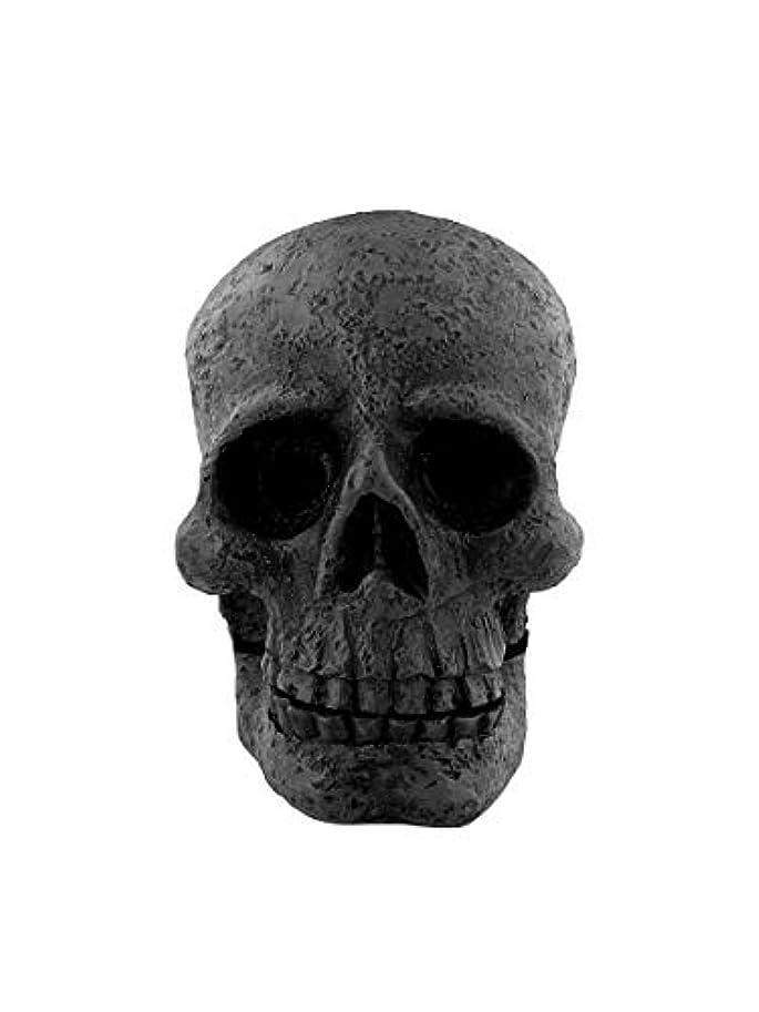 どう?リンク小競り合いAttitude Clothing Skull Incense Cone Holder