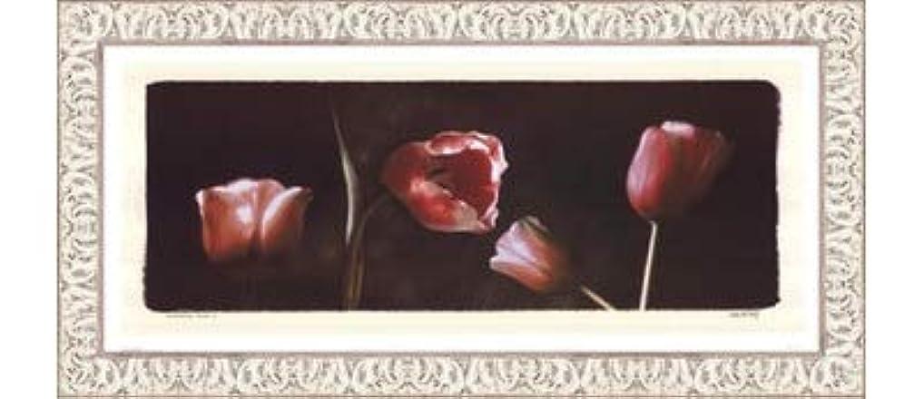 相続人時期尚早高速道路Illuminating Tulips I by Judy Mandolf – 21 x 9インチ – アートプリントポスター LE_40524-F9711-21x9
