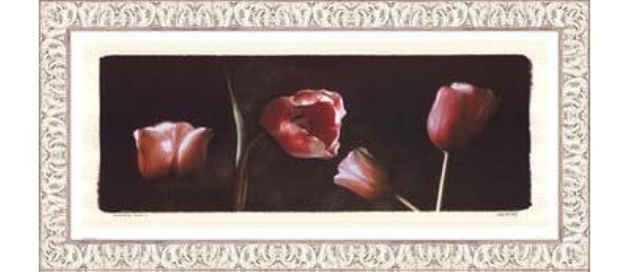 にやにや家主磁気Illuminating Tulips I by Judy Mandolf – 21 x 9インチ – アートプリントポスター LE_40524-F9711-21x9