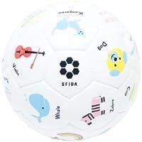 SFIDA(スフィーダ) Play!Study! サッカー3号 ホワイト PU合成皮革 BSF-ps