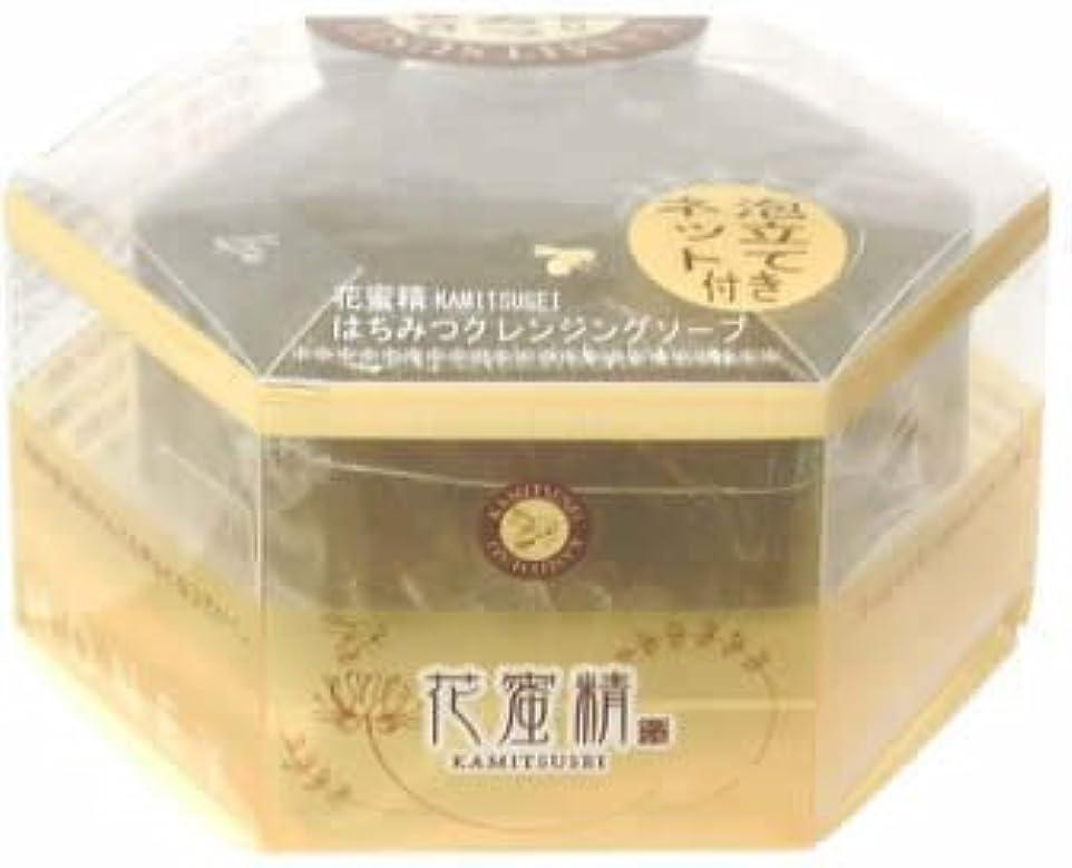 アルコール継承採用する花蜜精 はちみつ クレンジングソープ 85g