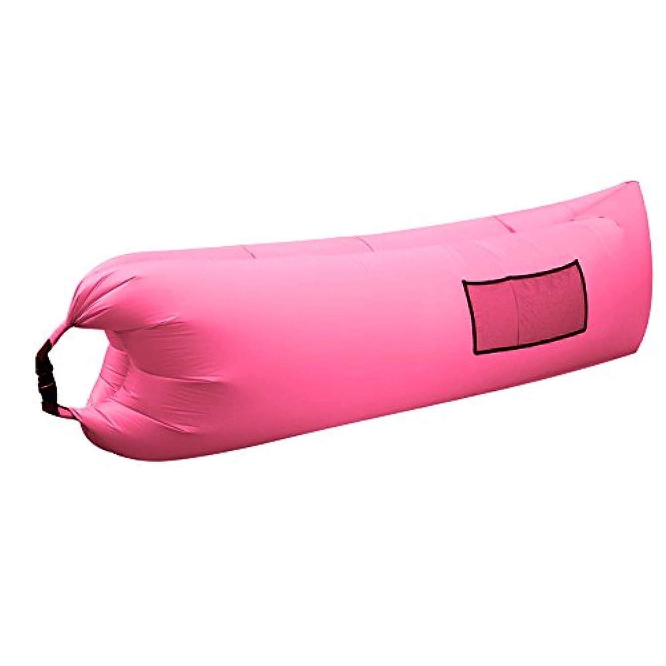 現代のかりてとげSAKEY エアーソファー エアーマット エアーベッド ポケット 収納袋付き アウトドア 海 プール 室内休憩 収納簡単 組み立て簡単 持ち運び便利