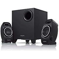 Creative SBS A250 コンパクト サイズで重低音の効いたパワフル サウンドを再生する2…