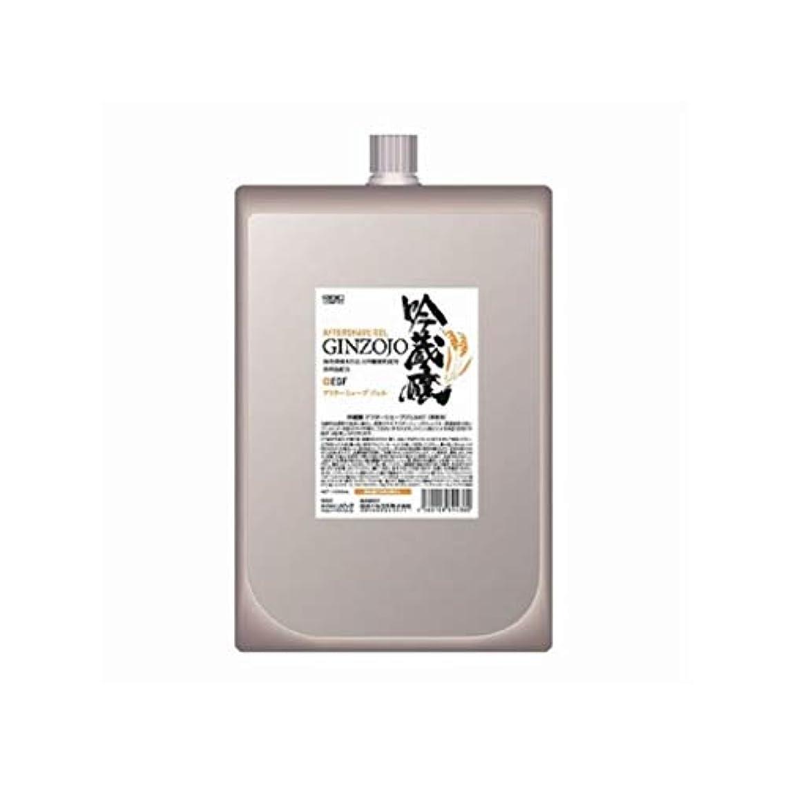 モスクシルク免疫する日本ケミコス株式会社 吟蔵醸 アフターシェーブジェルKF 1000ml