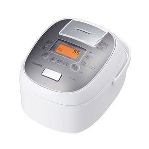 東芝 真空IHジャー炊飯器(5.5合炊き) グランホワイトT...