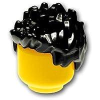 レゴミニフィグパーツ ヘア - スパイク:[Black / ブラック]【並行輸入品】