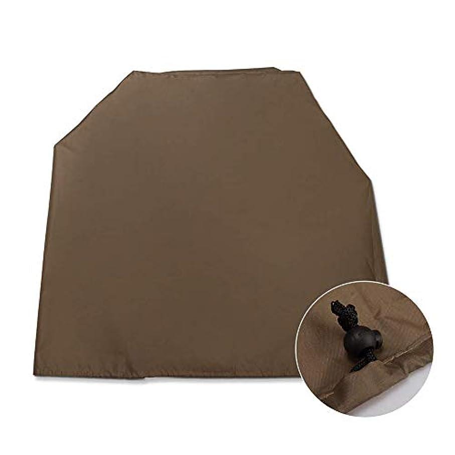 行凍った便利ZEMIN 庭園 家具 カバー ターポリンタープ 屋内 エアコン 防塵 保護 カバー 防水 日焼け止め (色 : Brown, サイズ さいず : 40x46x75cm)