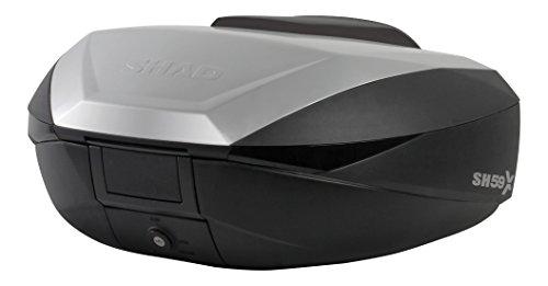 SHAD リアボックス 58L アルミパネル SH59X(D0B59100) 1個 3段階の拡張機能付き大容量トップケース