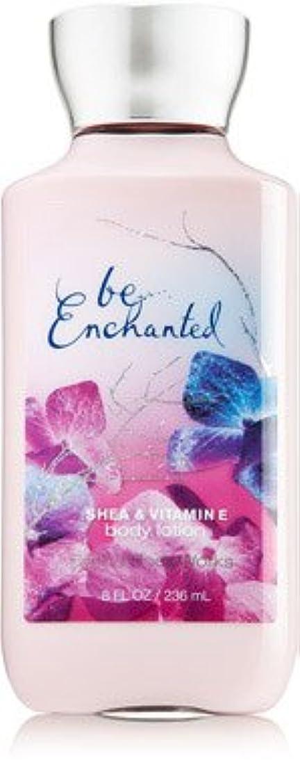 ハードウェアねじれ組み込む[Bath&Body Works] ボディーローション ビーエンチャンテッド Be Enchanted 236ml [並行輸入品]