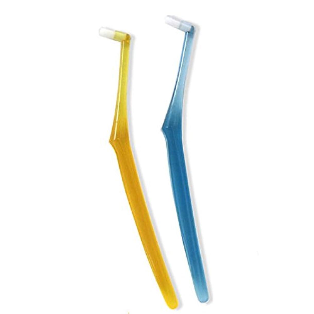 出発無線左ワンタフト インプロインプラント専用 歯ブラシ 4本セット (S(ソフト))