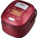 東芝 真空圧力IHジャー炊飯器(5.5合炊き) グランレッドTOSHIBA 真空圧力かまど炊き(真空圧力IH保温釜) RC-10VSJ-R