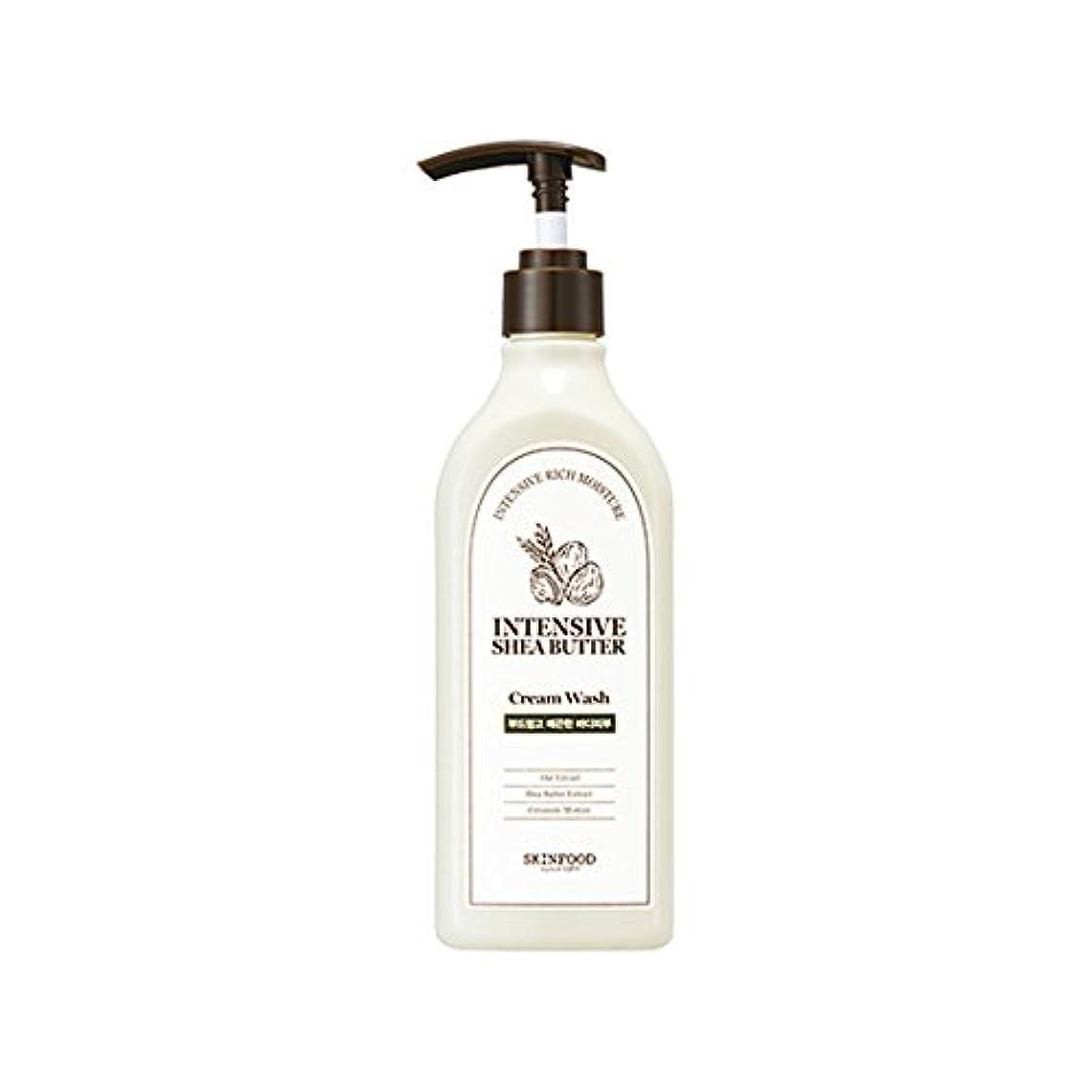 平和的福祉神[New] SKINFOOD Intensive Shea Butter Cream Wash 335ml/スキンフード インテンシブ シア バター クリーム ウォッシュ 335ml [並行輸入品]