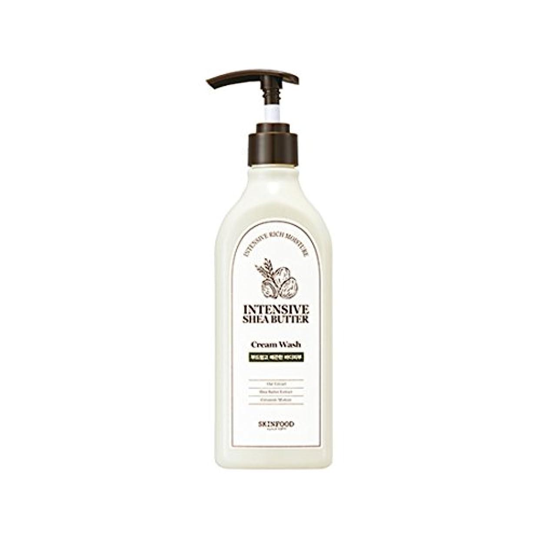 提供トレイル大脳[New] SKINFOOD Intensive Shea Butter Cream Wash 335ml/スキンフード インテンシブ シア バター クリーム ウォッシュ 335ml [並行輸入品]