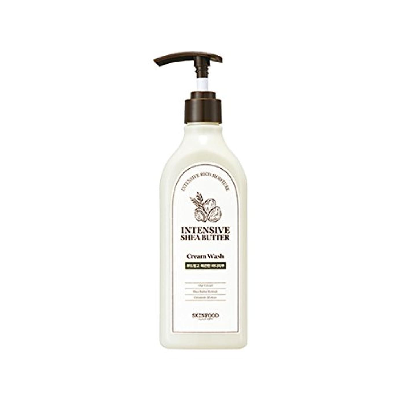 [New] SKINFOOD Intensive Shea Butter Cream Wash 335ml/スキンフード インテンシブ シア バター クリーム ウォッシュ 335ml [並行輸入品]
