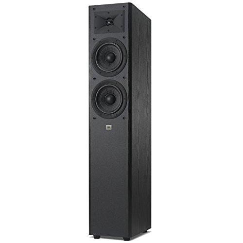 """JBL Arena 180 Dual 7"""" 2-Way Floor Standing Tower Speaker Black [並行輸入品]"""